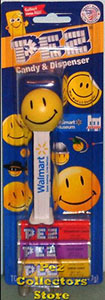Walmart Museum Lil Shopper Smiley Pez MOC