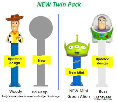 Toy Story 4 Twin Packs