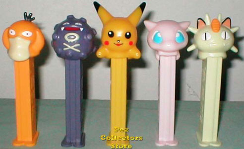 Pokemon Pez Set