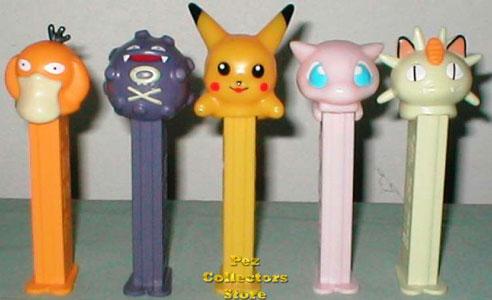 Pokemon Pez Set