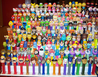 Cartoon Character Pez