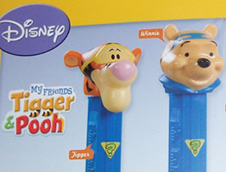 Pooh and Tigger Sleuth Pez