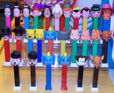 Some Vintage Disney Pez