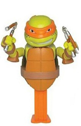 Michaelangelo TMNT Connectible Pez