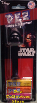 Kylo Ren Pez Mint on Card