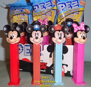 2020 Mickey and Friends Pez Assortment