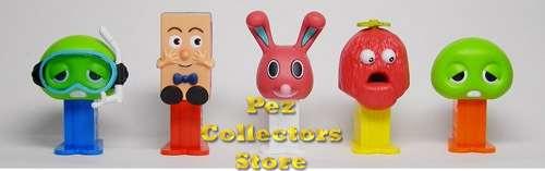 Gachapin Mini-Mini Pez Set