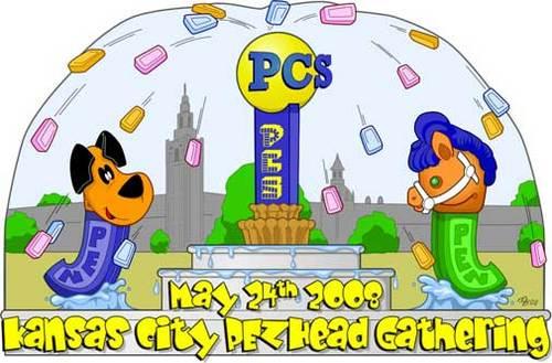 Kansas City PezHead Gathering Logo