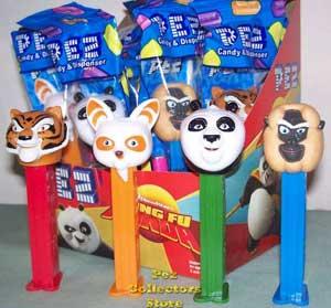 Kung Fu Panda Pez Set