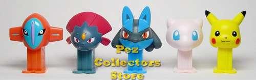 Pokemon Mini-mini pez set