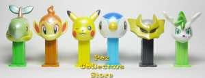 Restock Bandai Mini Pez Pokemon 6