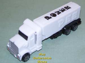 European Power Truck White with Smoke Stacks