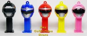 Boukenger Mini Pez from Bandai in Japan