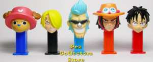One Piece 2 Bandai Mini Pez from Japan