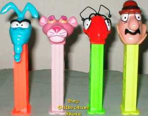 Pink Panther Pez with Pinky Panther