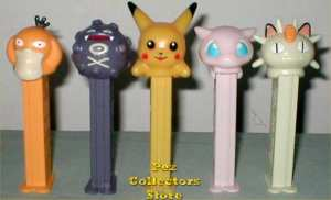 European Pokemon Pez Set