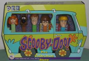 Scooby Doo Pez Set Loose