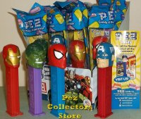 Marvel 3rd Quarter Pez Set