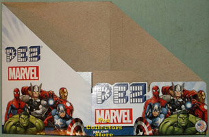2015 Marvel Pez Counter Display Box