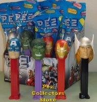 Marvel Avengers Assemble Pez