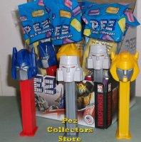Transformers Pez Set