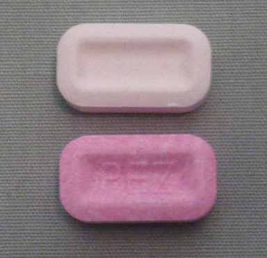 BCAA Chews and Pez Candy comparison