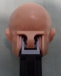 2016 PEZ copyright on the Ben Pakulski Pez Head