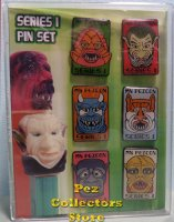 EErie Spectres Series 1 Pez Pin Set