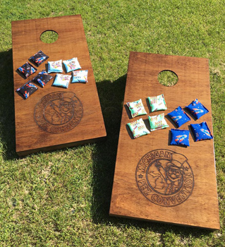 Michigan cornhole game