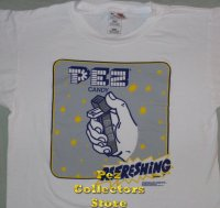 Refreshing Pez on White T-Shirt