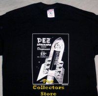 Pez Spaceman in Spaceship Ad T-Shirt