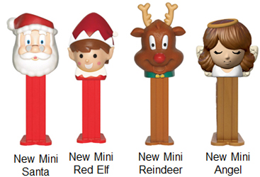 Christmas Mini Pez from Ornaments