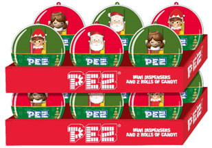 Christmas Pez Ornaments