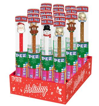 Christmas Pez Tubes