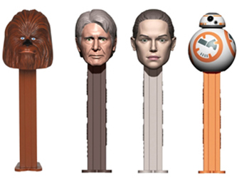 Millenium Falcon Pez Set with Han Solo