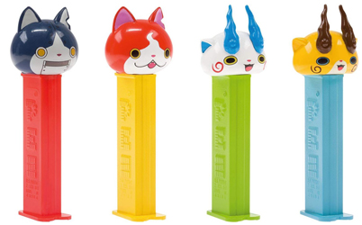 Yo-Kai Watch Pez from Europe