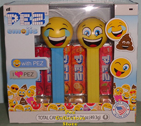 LOLing and Happy Emoji Pez Twin Pack