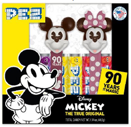 Mickey and Minnie 90 Years of Magic Pez Twin Pack