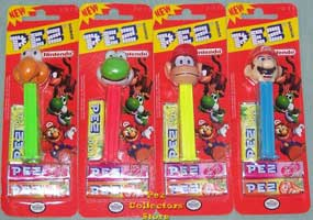 Mario Bros Nintendo set Mint on Card