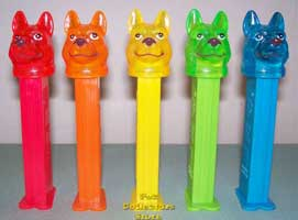 Rainbow Color Crystal K-9 set