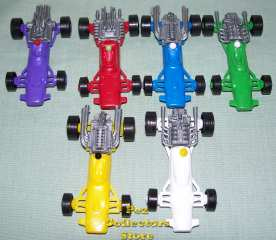 1970s Auto Pez Racing Cars from Pez International
