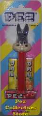 Bugs Bunny Pez on Halo Striped Card