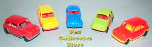 1970s Auto Pez Cars from Pez International