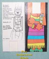 Pez paper costume series B-7