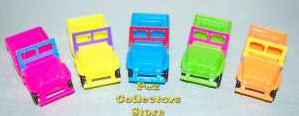 1970s Auto Pez Jeeps from Pez International