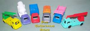 1970s Auto Pez Trucks from Pez International