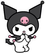 Hello Kitty Kuromi that could be a Pez