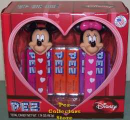 Mickey & Minnie Mouse Disney Couples Valentines Pez