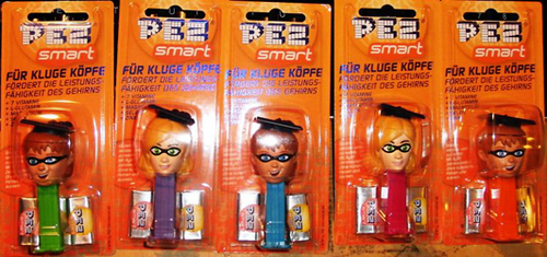 Pez Smart Vitamin Pez Dispensers