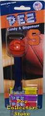 Syracuse University NCAA Basketball Pez on Card